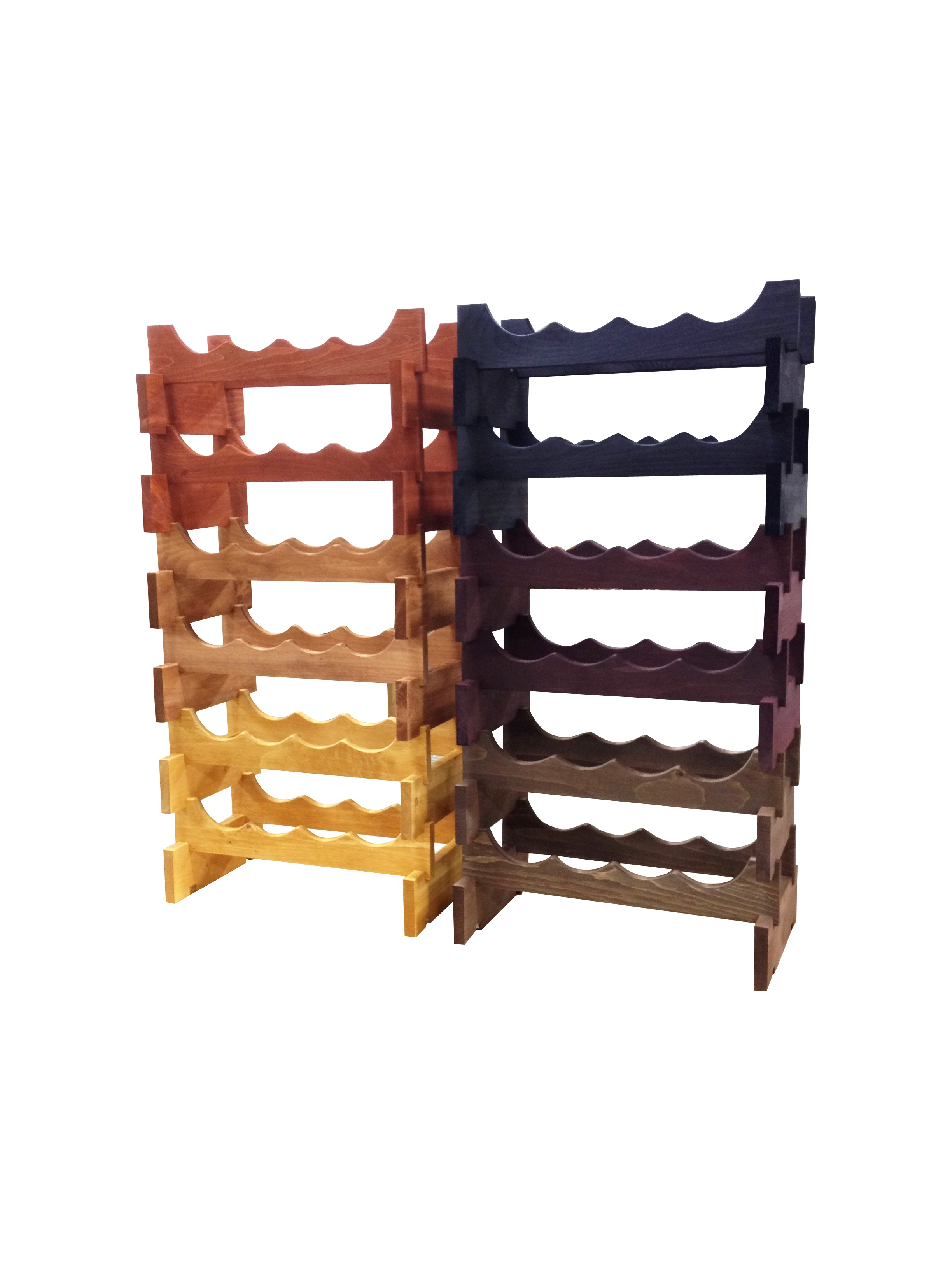 Stackable Wooden Wine Rack